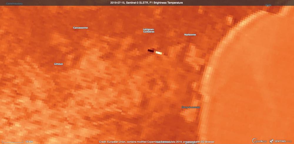 2019-07-15, Sentinel-3 SLSTR, F1 Brightness Temperature .jpg